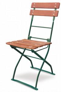 EuroLiving Biergartenstuhl Edition-Classic ocker grün