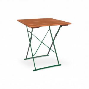 EuroLiving Tisch 70x70 Edition-Classic ocker grün