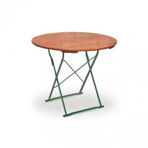 Classic ocker grün - Tisch Ø