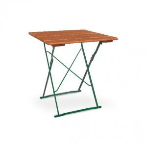 Classic ocker grün - Tisch 70x70 cm