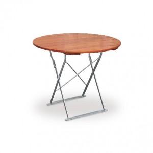 Classic ocker verzinkt - Tisch Ø