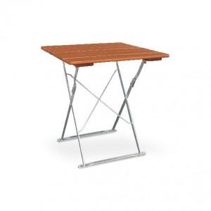 Classic ocker verzinkt - Tisch 70x70