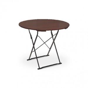 Classic schwarz kastanie - Tisch Ø