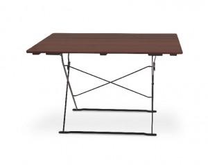 Classic schwarz kastanie - Tisch 120x70