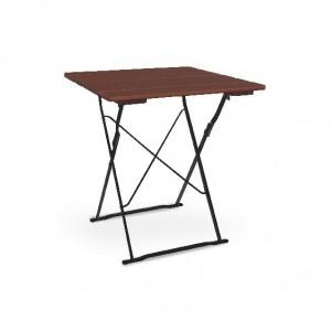 Classic schwarz kastanie - Tisch 70x70